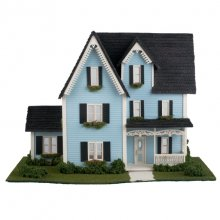 Complete kit quarter inch victorian style house hart 39 s for Victorian style kit homes