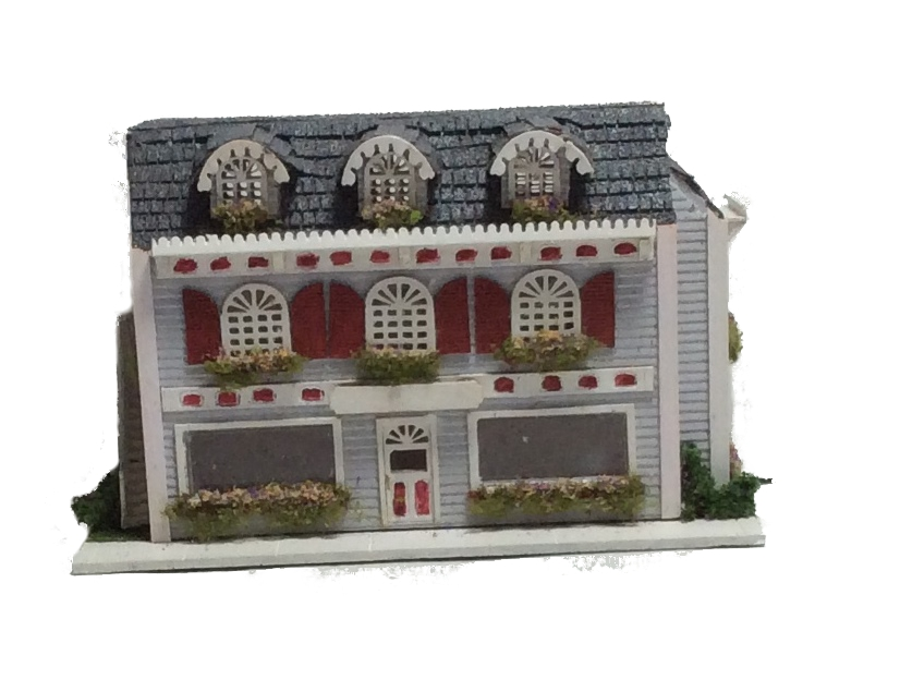 Complete kit 1 144th inch scalevictorian style store front for Complete home building kits