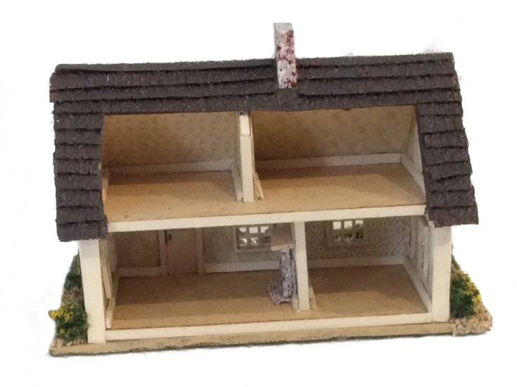 Complete Kit 1:144th Inch Scale Half Cape Beach Cottage - Click Image to Close