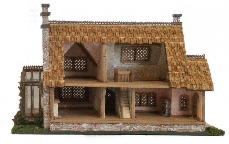 Complete Kit - 144th Inch Scale Storybook Tattington Cottage - Click Image to Close